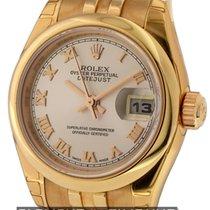 Rolex Datejust Ladies 26mm 18k Rose Gold