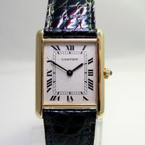 Cartier Tank 18K /750er Gold GM Revisioniert