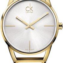 ck Calvin Klein Stately K3G23526 Damenarmbanduhr Design Highlight