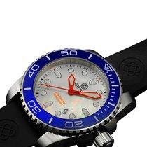 Deep Blue Sea Ram 500 Diving Watch 500m Wr Swiss Quartz Blue...