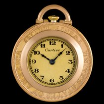 Cartier 18k Yellow Gold Twenty Dollar Coin Pendant Pocket Watch