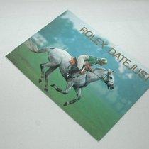 Rolex Booklet Datejust 1994
