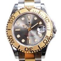 勞力士 (Rolex) Yacht Master Gold And Steel Gray Automatic 168623GY