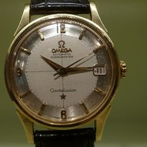 Omega vintage 1960 constellation piepan gold automatic...