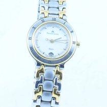 Maurice Lacroix Les Classiques Damen Uhr Stahl/gold 25mm Rar