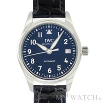 IWC Pilots Stainless Steel Blue  IW324008 (NEW)