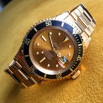 Rolex Submariner 1680/8 Gold Tropical Nipple dial
