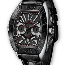 Franck Muller 9880 Conquistador with Leather Strap