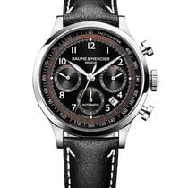 Baume & Mercier M0A10001 Capeland Chronograph in Steel -...