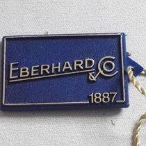 Eberhard & Co. original vintage tag blu  plastic