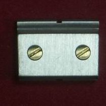 Cartier Santos Glied Link Ersatzglied 13,54mm Stahl mit 2...