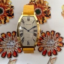 Cartier Tonneau 18K Yellow Gold