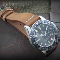 Cinturino in pelle 20 mm VINTAGE BARBOUR Leather watch strap...