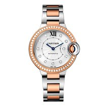 Cartier Ballon Bleu Automatic Ladies Watch Ref WE902077