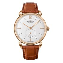 Fortis TERRESTIS Orchestra a.m. Gold Date Automatic Roman 9001332