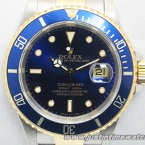 Rolex Professionali Submariner Date 16613 quadrante blu full set