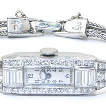 Cartier Antique Cartier Platinum Diamond Art Deco Ladies...