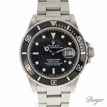 Rolex Submariner Date 168000 Transitional Spider Dial