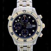 Omega Seamaster Professional -Diver- 300 Meter - Titan/Gelbgol...