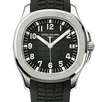 Patek Philippe 5167A Aquanaut Automatic  Black Dial Rubber