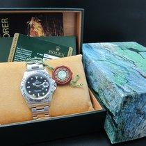 Rolex EXPLORER 2 16570 Black Dial with FULL SET