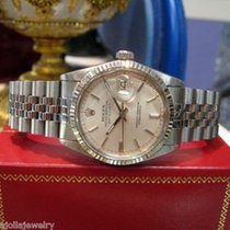 Rolex Oyster Perpetual Datejust Stainless Steel And White Gold...