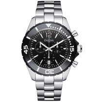 Davosa Swiss Nautic Star Chrono 16347315 Mens WristWatch...