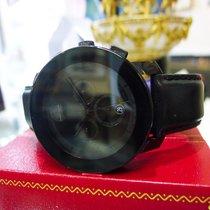 Movado Bold Chronograph Black And Purple Strap Watch Ref:...