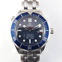 Omega Seamaster 300m 36mm Co-Axial Mid Size blue 2222.8000 NEW