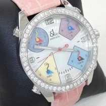 Jacob & Co. Five Time Zone Mop Dial Factory  2.0 Ct Diamond...