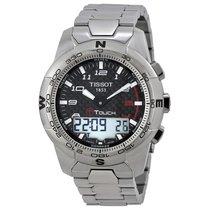 Tissot Men's T0474204420700 T-Touch II Black Chronograph Dia
