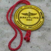 Breitling original breitling vintage tag plastic yellow