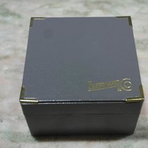 Eberhard & Co. vintage leather grey watch box  for chrono...