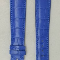 Parmigiani Fleurier leather strap blue  20.5 / 16.5
