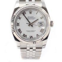 Ρολεξ (Rolex) Oyster Perpetual Datejust 36 mm White jubilee...