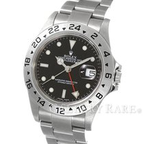 "롤렉스 (Rolex) Explorer II Black Dial Stainless Steel 40MM ""F..."