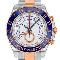 Rolex Yacht Master II 44mm 18K Rose Gold /Steel 116681