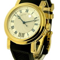 Breguet 5817BA/12/9V8 Marine II Big Date - Yellow Gold on...