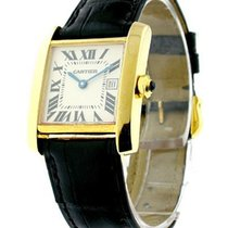Cartier W5001456 Tank Francaise - Mid Size Yellow Gold -...