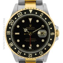 Rolex 18k yellow gold and stainless steel GMT-Master II