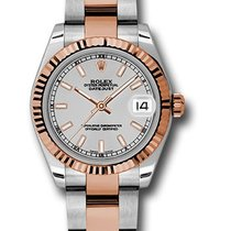Rolex Unworn 178271 sio Datejust 31mm in Steel with Rose Gold...
