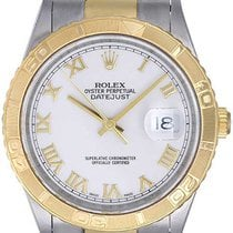Rolex Turnograph 2-Tone Men's Steel & Gold Watch 16263
