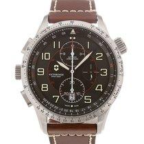 Victorinox Swiss Army Airboss 45 Chronograph Black Dial
