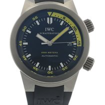 IWC Aquatimer Automatic 2000 IW3538-04 Watch with Rubber...