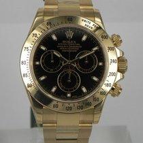 Rolex DAYTONA YELLOW GOLD BLACK DIAL 116508
