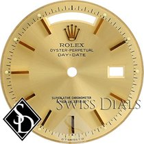 Rolex Day-Date Champagne Stick Marker T Swiss T Dial for...