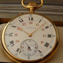 L.Leroy vintage 18K YG, 1915, Horlogers de la Marine Paris