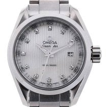 Omega Seamaster Aqua Terra Quartz 30 White Mother of Pearl