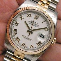 ロレックス (Rolex) Datejust 116233 Mens Steel & 18k Yellow Gold...