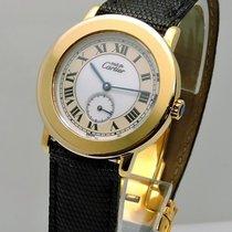 Cartier Must De  Vermill 18k Yellow Gold 30mm Quartz W/...